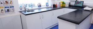 Consultation room, Willow Veterinary Clinic